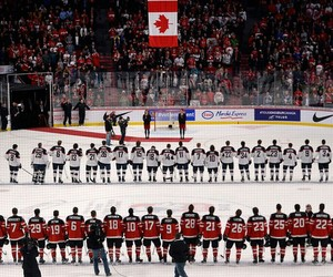 canada, hockey, and sports image