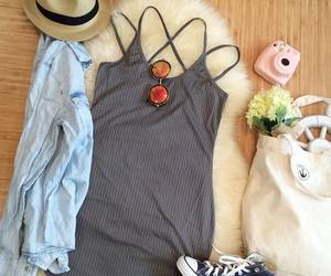 outfit and summer time. image