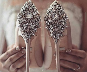 elegance, love, and shoes image
