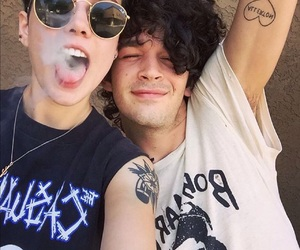 halsey, the 1975, and matty healy image