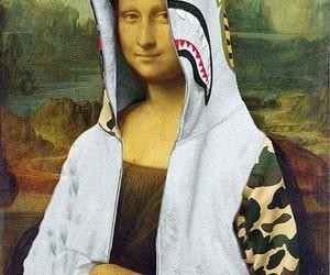 mona lisa and bape image