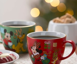 christmas, minnie, and tea image