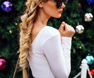 blonde, fashion, and fun image