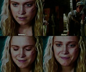the 100, quote, and clarke griffin image