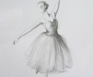 dance, drawing, and beautiful image