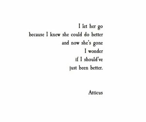 atticus, poetry, and love image