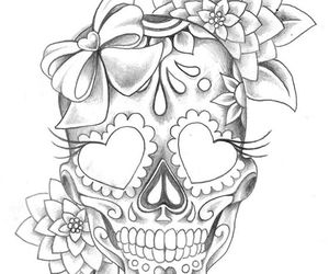 drawing, flowers, and spanish image
