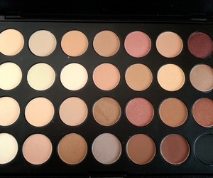 eyeshadow, makeup, and neutrals image