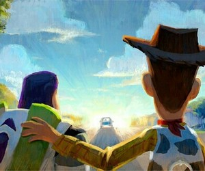 toy story, buzz, and disney image