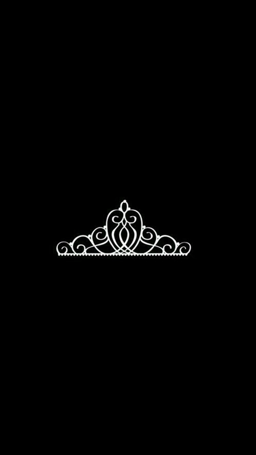 Crown Wallpaper Black And White