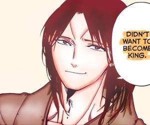king, kouen ren, and manga image
