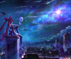 league of legends, jinx, and star guardian image