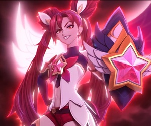 jinx, league of legends, and star guardian image