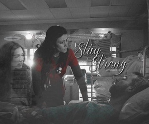 teen wolf, melissa mccall, and chris argent image