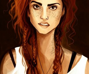 fanart, harry potter, and ginny weasley image