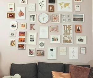 decor, diy, and frames image