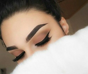 cateye, makeup, and style image