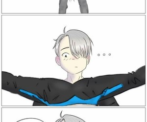 pervert, victor, and skate image