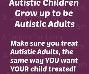 adults, autism, and quote image