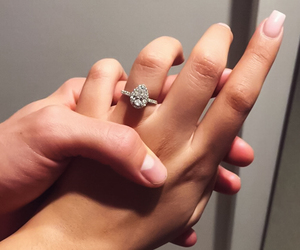 couple, ring, and alternative image