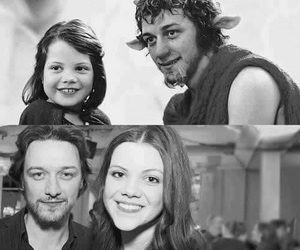narnia, Lucy, and black and white image