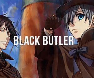 black butler, shinigami, and sebastian michaelis image
