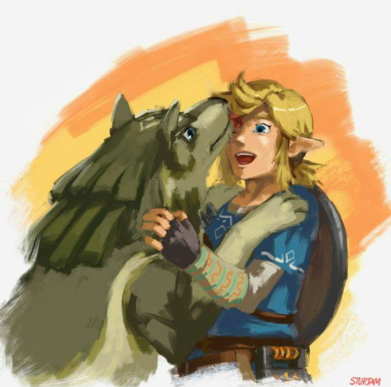Adorable Fanart From Botw Uploaded By Just Someone