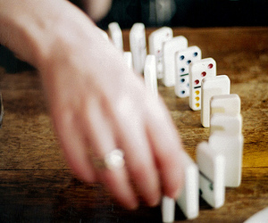 domino, vintage, and game image