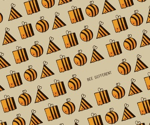 bee, different, and quote image