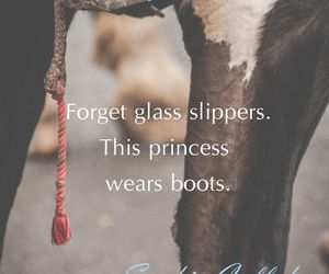 horse, princess, and quotes image