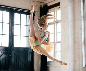 ballerina, dancing, and lovely image