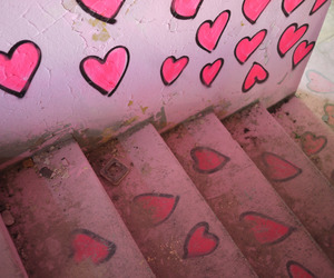 pink and heart image