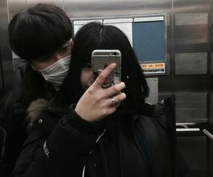 korean, ulzzang, and korean couple image