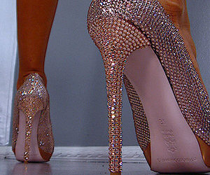 brown, fashion, and high heels image