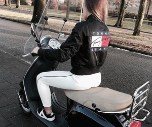 fashion and scooter image