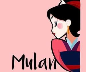 disney, mulan, and princess image