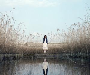 lake, mood, and girl image