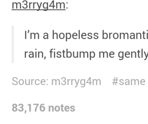bromance, funny, and tumblr image