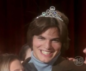 ashton kutcher, funny, and that 70s show image