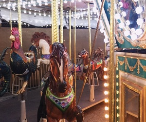 adventure, carnival, and carousel image