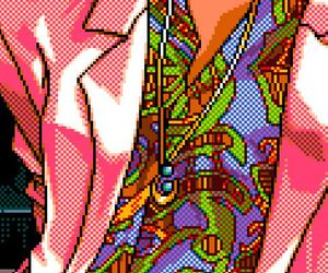 aesthetic, art, and pixels image