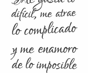 frases, love, and imposible image