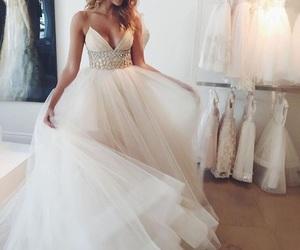 beautiful, dresses, and wedding image