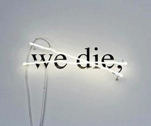 grunge, die, and light image