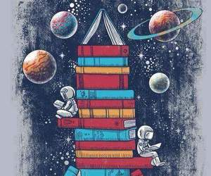 book, space, and art image
