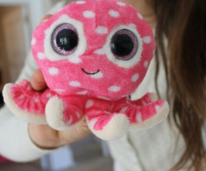 tumblr, pink, and octopus image
