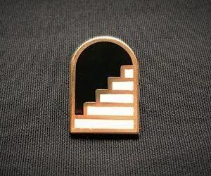enamel pin image