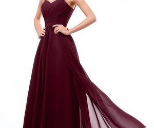 dress, fashion, and bridesmaid dress image