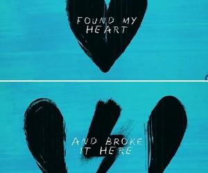 ed sheeran and love image