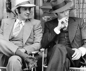 Alain Delon and jean-paul belmondo image